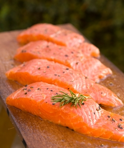 nutrition - salmon